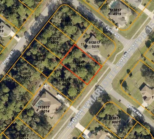 S Haberland Boulevard, North Port, FL 34288 (MLS #A4469023) :: Team Bohannon Keller Williams, Tampa Properties