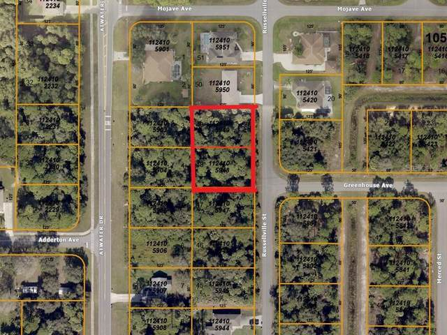 Russellville (Double Lot) Street, North Port, FL 34288 (MLS #A4470603) :: CENTURY 21 OneBlue