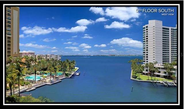 200 Quay Commons #501, Sarasota, FL 34236 (MLS #A4470608) :: Homepride Realty Services