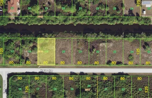 12156 Xavier Avenue, Port Charlotte, FL 33981 (MLS #A4470859) :: Team Bohannon Keller Williams, Tampa Properties