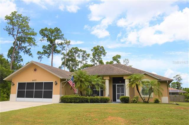 1077 Ample Ave, Port Charlotte, FL 33948 (MLS #A4471401) :: Team Buky