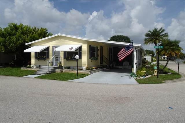 5707 45TH Street E #20, Bradenton, FL 34203 (MLS #A4472146) :: McConnell and Associates
