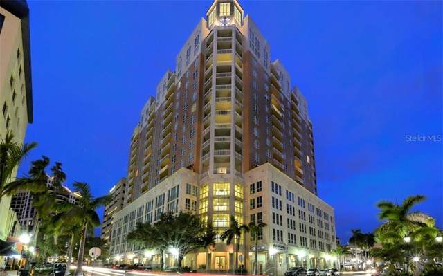1350 Main Street #701, Sarasota, FL 34236 (MLS #A4472236) :: Your Florida House Team
