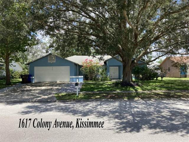 1617 Colony Avenue, Kissimmee, FL 34744 (MLS #A4473472) :: GO Realty