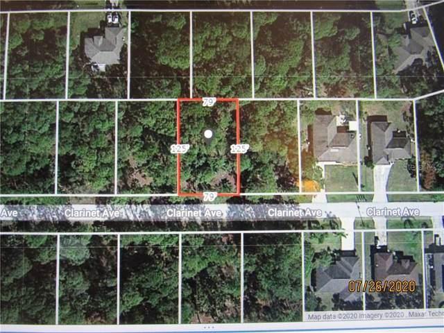 Clarinet Avenue, North Port, FL 34288 (MLS #A4473493) :: KELLER WILLIAMS ELITE PARTNERS IV REALTY