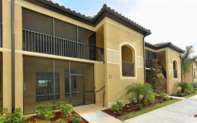 7305 River Hammock Drive #105, Bradenton, FL 34212 (MLS #A4474569) :: Premier Home Experts