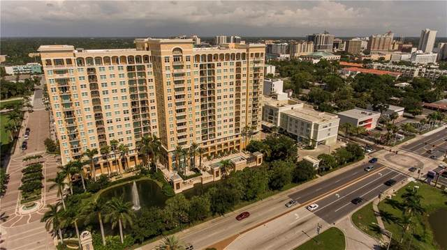 750 N Tamiami Trail #1105, Sarasota, FL 34236 (MLS #A4476925) :: Your Florida House Team