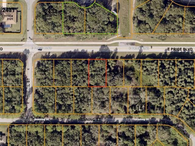 E Price Boulevard, North Port, FL 34288 (MLS #A4478139) :: CENTURY 21 OneBlue