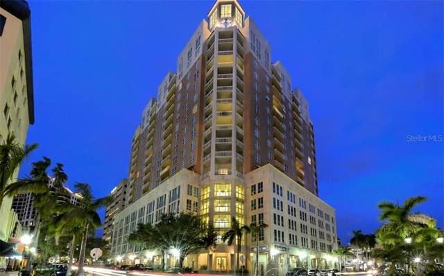 1350 Main Street #1601, Sarasota, FL 34236 (MLS #A4478753) :: Burwell Real Estate