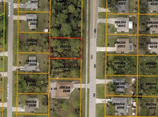 S Cranberry Boulevard, North Port, FL 34286 (MLS #A4479410) :: Team Buky