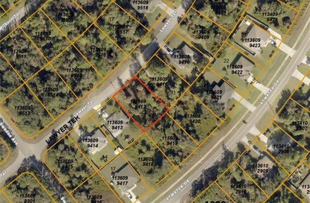 1136099412 Lawyer Terrace, North Port, FL 34288 (MLS #A4480054) :: Griffin Group