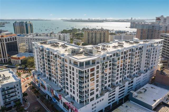 111 S Pineapple Avenue #1008, Sarasota, FL 34236 (MLS #A4480308) :: KELLER WILLIAMS ELITE PARTNERS IV REALTY