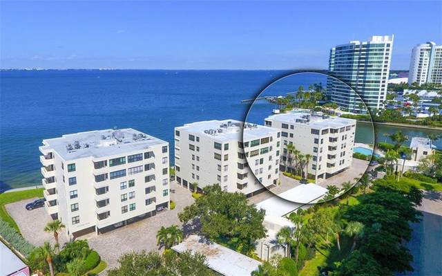 101 Sunset Drive #302, Sarasota, FL 34236 (MLS #A4481409) :: The Paxton Group