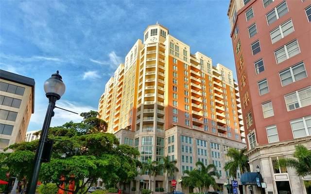 1350 Main Street #1704, Sarasota, FL 34236 (MLS #A4481451) :: Sarasota Home Specialists
