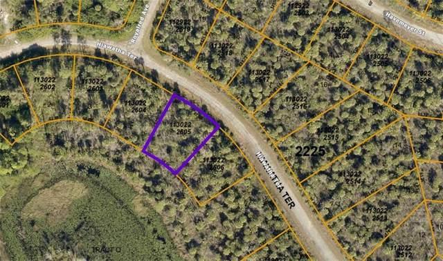 1130222605 Hiawatha Terrace, North Port, FL 34288 (MLS #A4482667) :: Baird Realty Group