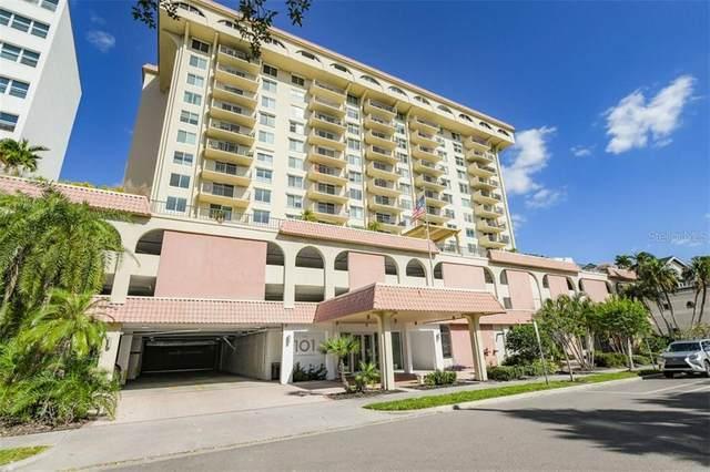 101 S Gulfstream Avenue 14C, Sarasota, FL 34236 (MLS #A4484125) :: Gate Arty & the Group - Keller Williams Realty Smart