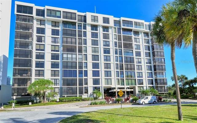 707 S Gulfstream Avenue #1002, Sarasota, FL 34236 (MLS #A4484781) :: McConnell and Associates