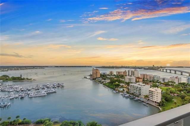 1155 N Gulfstream Avenue #1802, Sarasota, FL 34236 (MLS #A4485046) :: Keller Williams on the Water/Sarasota