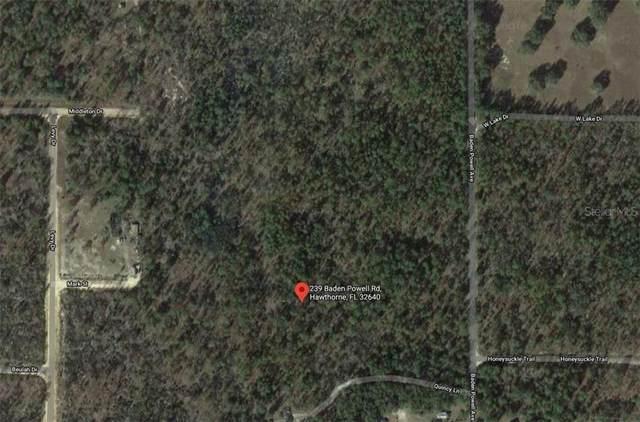 239 Baden Powell Road, Hawthorne, FL 32640 (MLS #A4486102) :: Baird Realty Group