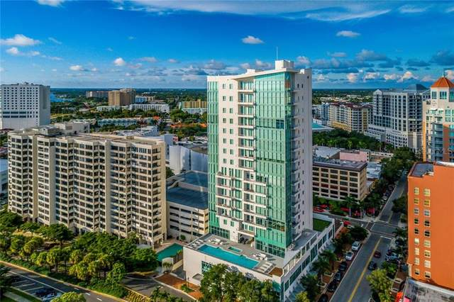 1301 Main Street #502, Sarasota, FL 34236 (MLS #A4486685) :: Gate Arty & the Group - Keller Williams Realty Smart