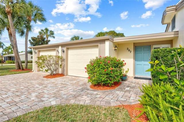 207 Whispering Sands Drive V-1, Sarasota, FL 34242 (MLS #A4486839) :: Southern Associates Realty LLC