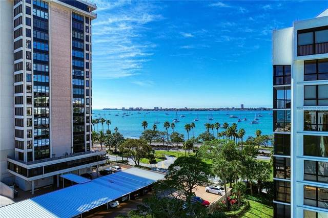 711 S Palm Avenue #403, Sarasota, FL 34236 (MLS #A4488020) :: Armel Real Estate