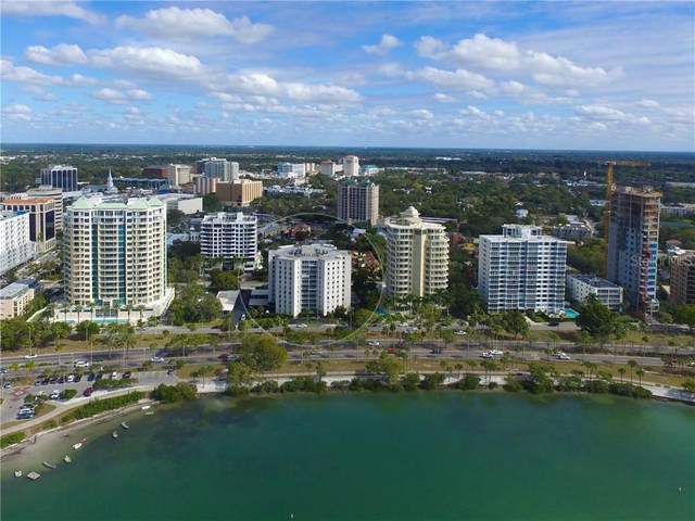 435 S Gulfstream Avenue #907, Sarasota, FL 34236 (MLS #A4488260) :: Everlane Realty