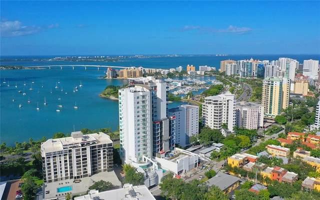 707 S Gulfstream Avenue #308, Sarasota, FL 34236 (MLS #A4489743) :: Team Bohannon Keller Williams, Tampa Properties