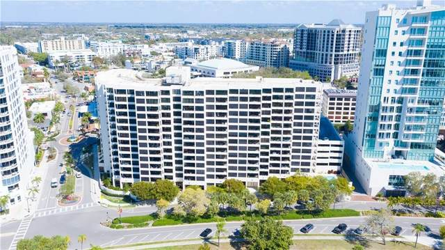 1255 N Gulfstream Avenue #402, Sarasota, FL 34236 (MLS #A4492404) :: RE/MAX Marketing Specialists