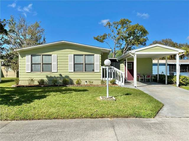 105 Meadow Circle #105, Ellenton, FL 34222 (MLS #A4492595) :: Memory Hopkins Real Estate
