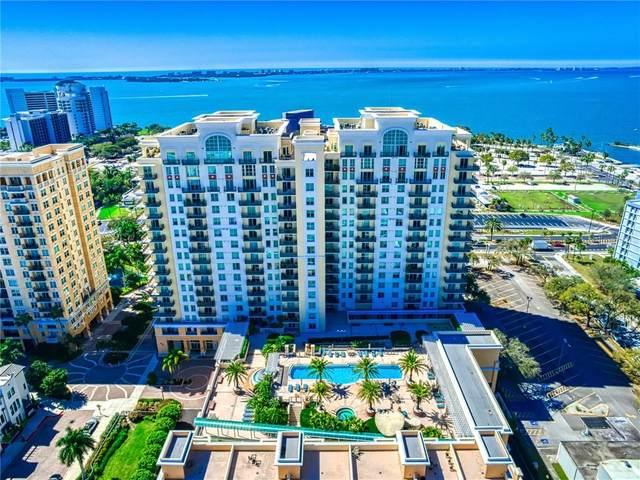 800 N Tamiami Trail #1203, Sarasota, FL 34236 (MLS #A4492957) :: EXIT King Realty