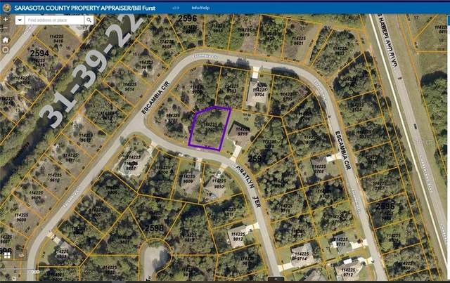 Lot 20 Gratlyn Terrace, North Port, FL 34288 (MLS #A4494423) :: The Lersch Group