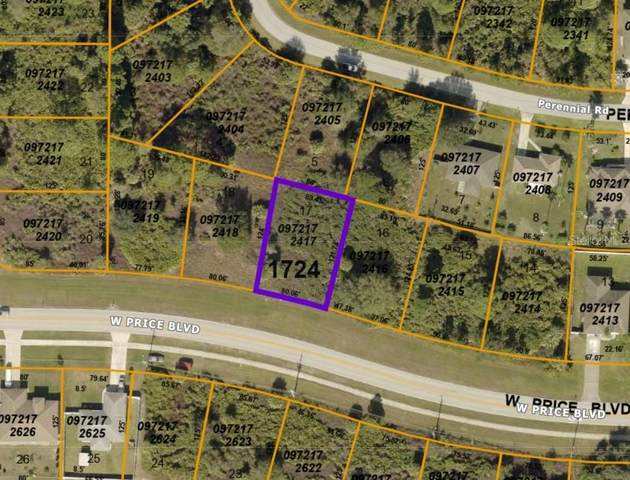 Lot 17 W Price Boulevard, North Port, FL 34291 (MLS #A4495054) :: MVP Realty