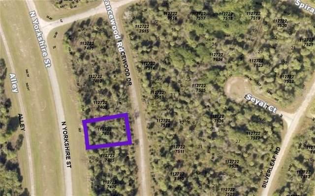 Lancewood Road, North Port, FL 34288 (MLS #A4496095) :: Armel Real Estate