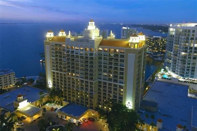 1111 Ritz Carlton Drive #1802, Sarasota, FL 34236 (MLS #A4496125) :: The Heidi Schrock Team