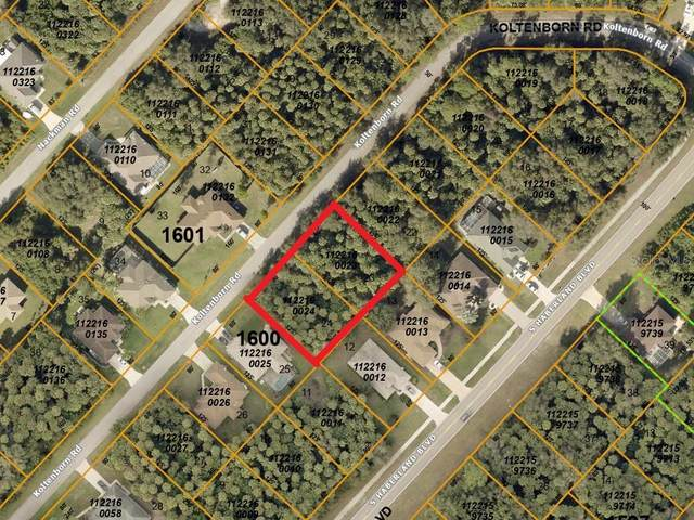 Koltenborn (Double Lot) Road, North Port, FL 34288 (MLS #A4496463) :: The Lersch Group