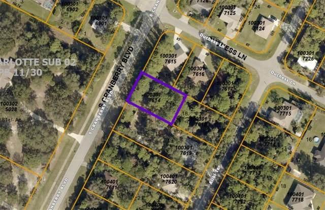 Cranberry Boulevard, North Port, FL 34286 (MLS #A4496505) :: Armel Real Estate