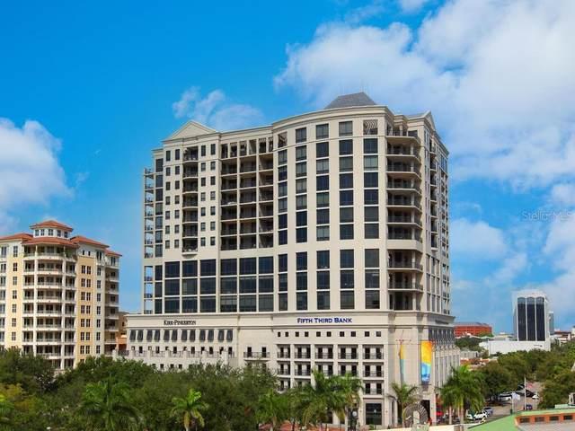 50 Central Avenue 12G, Sarasota, FL 34236 (MLS #A4497067) :: Century 21 Professional Group
