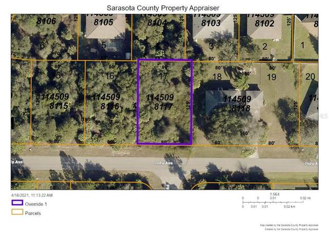 Jody Ave, North Port, FL 34288 (MLS #A4497400) :: Kelli and Audrey at RE/MAX Tropical Sands