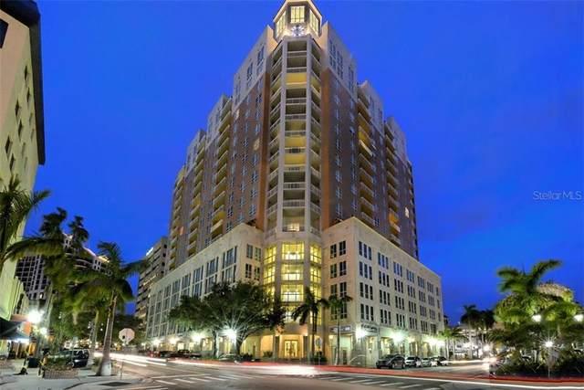 1350 Main Street #704, Sarasota, FL 34236 (MLS #A4497405) :: Team Turner