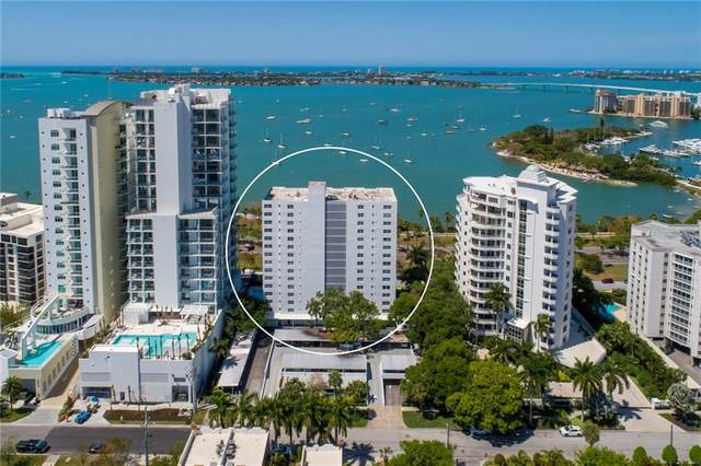 555 S Gulfstream Avenue #1501, Sarasota, FL 34236 (MLS #A4497417) :: The Lersch Group