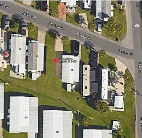 40 Montego Drive, Palmetto, FL 34221 (MLS #A4498991) :: Cartwright Realty