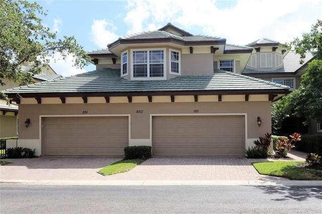 6511 Moorings Point Circle #101, Lakewood Ranch, FL 34202 (MLS #A4500341) :: Pepine Realty