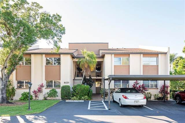 2420 Clubhouse Circle #104, Sarasota, FL 34232 (MLS #A4500567) :: Kelli and Audrey at RE/MAX Tropical Sands