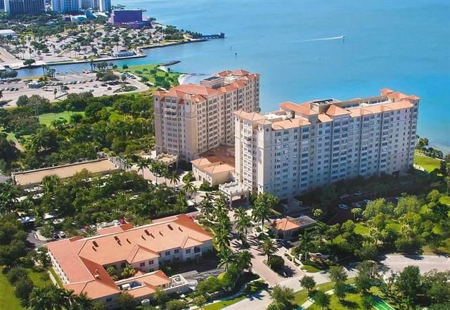 1301 N Tamiami Trail #1003, Sarasota, FL 34236 (MLS #A4502260) :: Stellar Home Sales