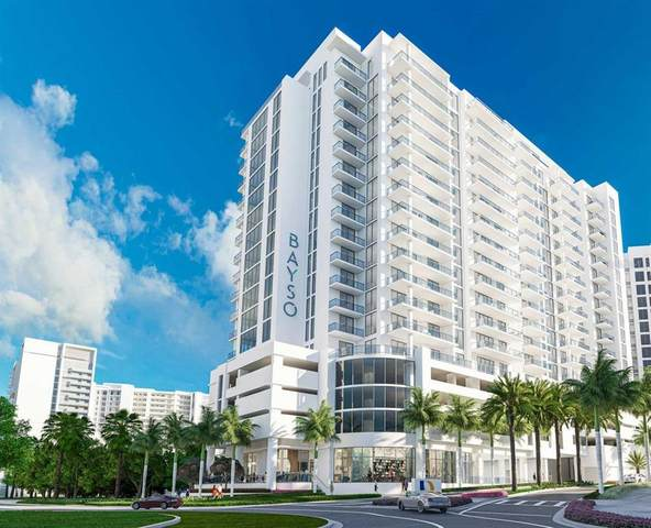 301 Quay Common #708, Sarasota, FL 34236 (MLS #A4502393) :: Pepine Realty