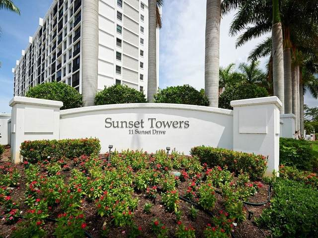 11 Sunset Drive #107, Sarasota, FL 34236 (MLS #A4502416) :: Pepine Realty