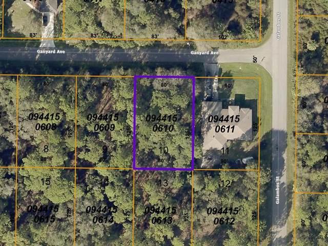 Ganyard Avenue, North Port, FL 34291 (MLS #A4503509) :: Coldwell Banker Vanguard Realty