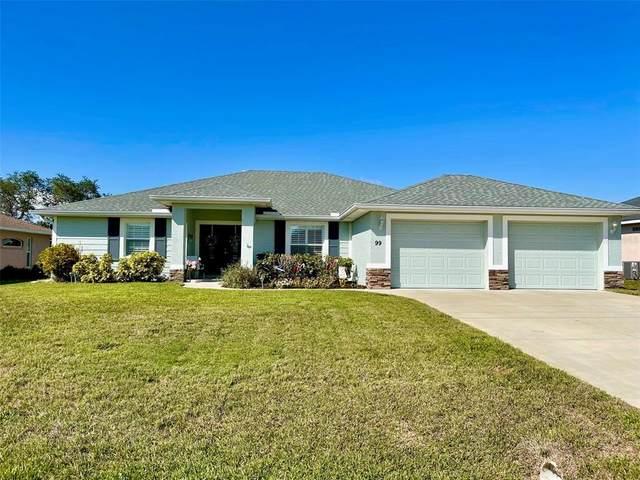 99 Pine Valley Lane, Rotonda West, FL 33947 (MLS #A4503510) :: Southern Associates Realty LLC
