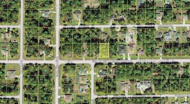 15042 Chamberlain Boulevard, Port Charlotte, FL 33953 (MLS #A4504360) :: Armel Real Estate